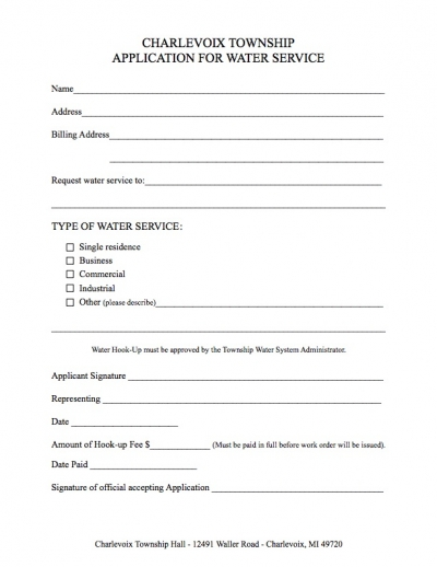 application-for-water-service